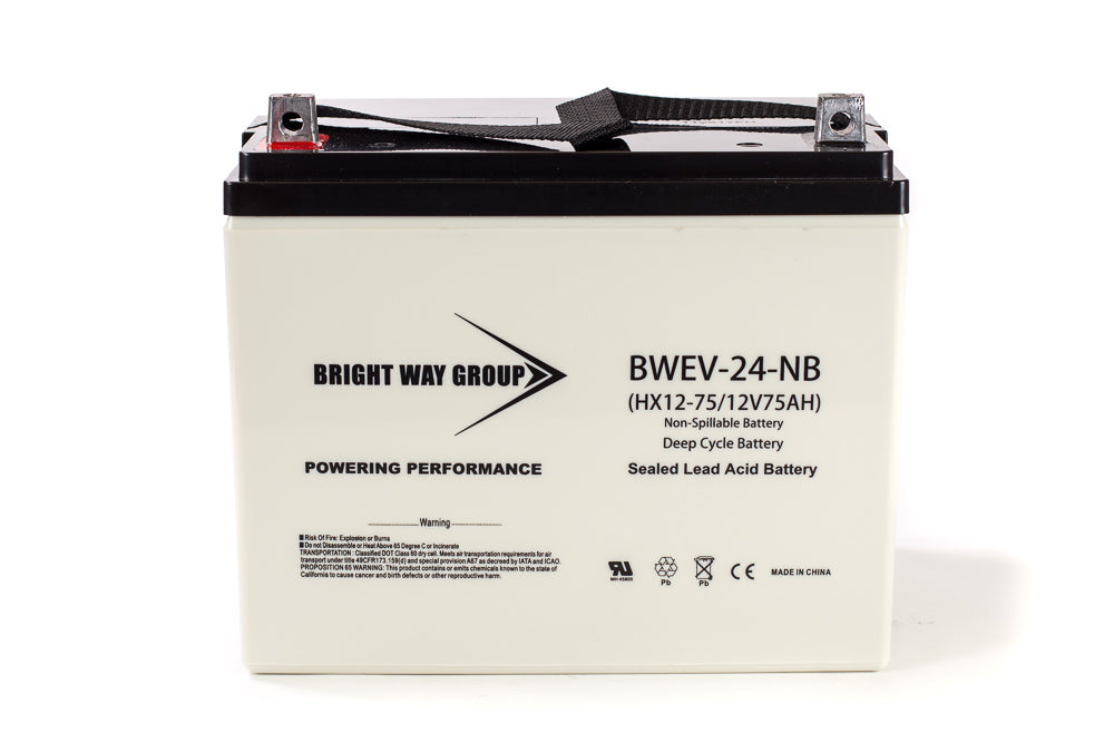 Bright Way Group BW EV-24 DC - 12V 75AH SLA Battery
