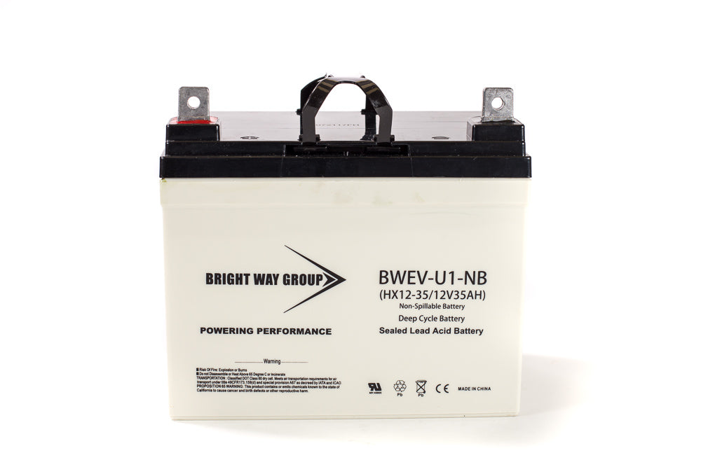 Bright Way Group BW EV-U1 DC - 12V 35AH SLA Battery
