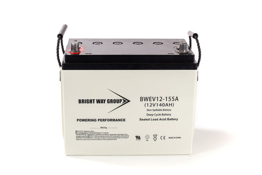 bright way group bw ev12 12v 155ah sla battery