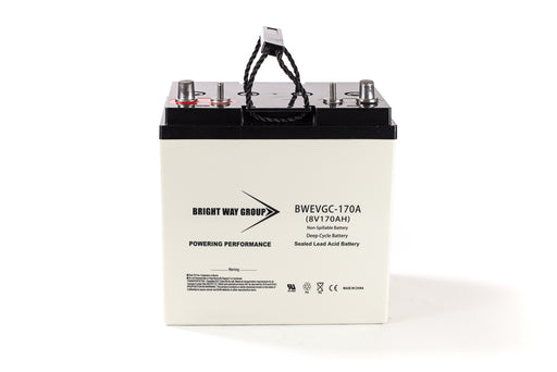 bright way group bw evgc8 8v 170ah sla battery