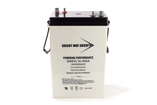 bright way group bw evl16 6v 400ah sla battery