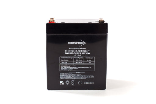 bright way group bw hr 1230w fr high rate ups type 12v 5ah sla battery