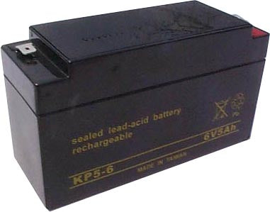 long kp5 6 6v 5ah sla battery