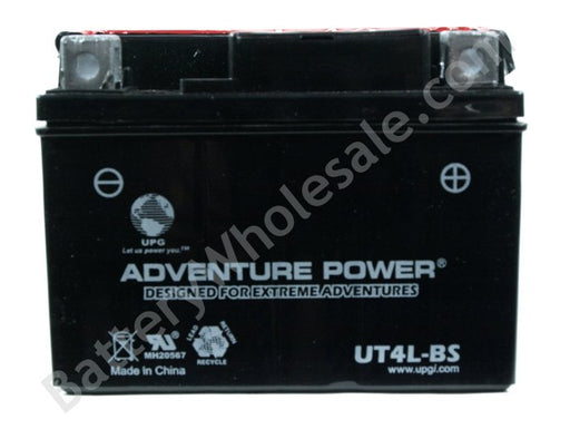 adventure power ut4l 12v 35cca sealed agm