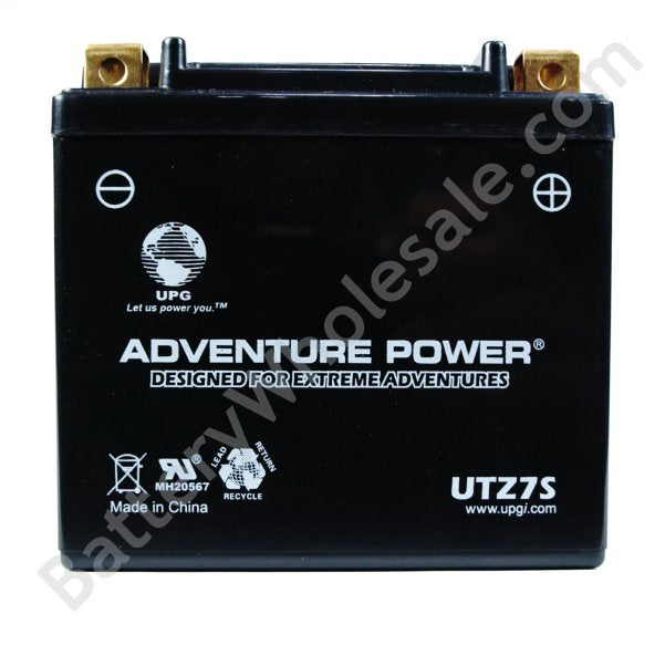 adventure power utz7s 12v 90cca sealed agm