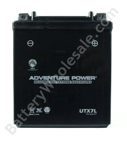 adventure power utx7l 12v 85cca sealed agm