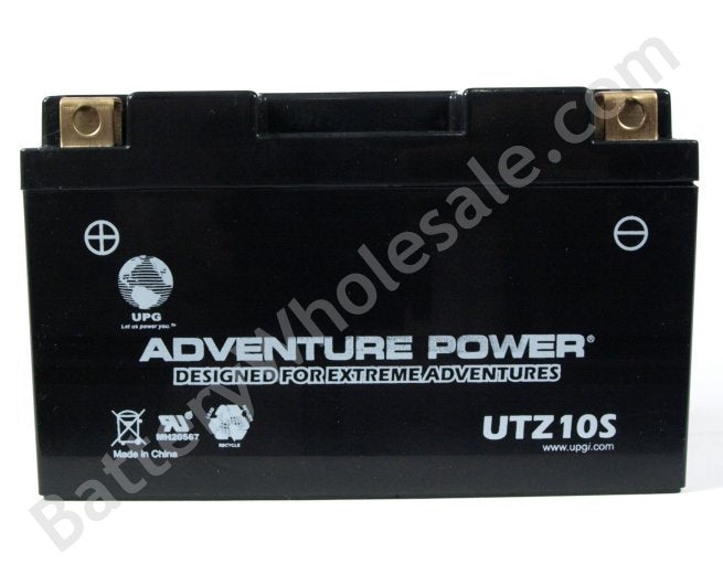 adventure power ubtz10s 12v 150cca sealed agm