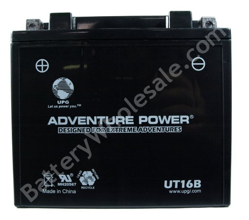 adventure power ut16b 12v 240cca sealed agm