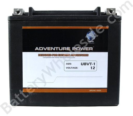 adventure power ubvt 1 12v 310cca sealed agm