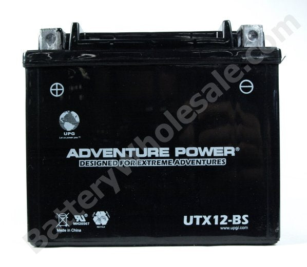 adventure power utx12 bs 12v 10ah dry charge agm