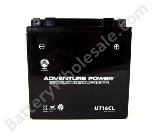adventure power ut16cl 12v 240cca sealed agm