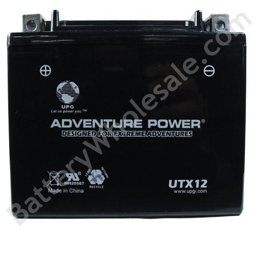 adventure power utx12 12v 150cca sealed agm