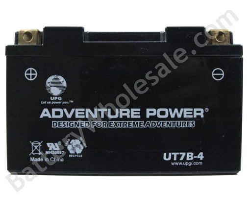 adventure power ut7b 4 12v 85cca sealed agm