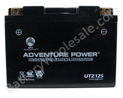 adventure power utz12s 12v 170cca sealed agm