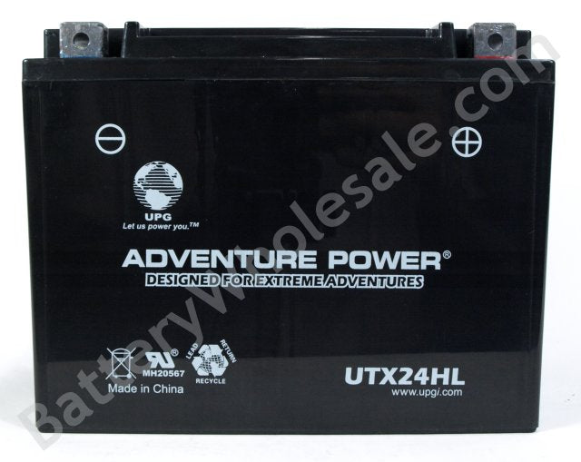 adventure power utx24hl 12v 300cca sealed agm