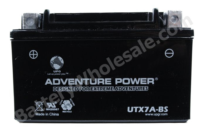 adventure power utx7a bs 12v 6ah dry charge agm