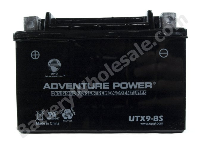 adventure power utx9 bs 12v 8ah dry charge agm