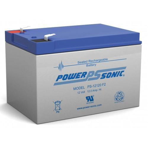PS-12120  -  POWERSONIC 12V 12Amp F2 AGM BATTERY