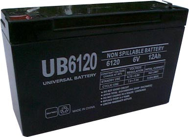 best bat 0063 pack is for one ups 1 6v 12ah sla battery