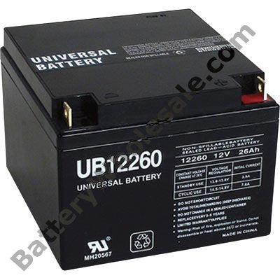 tripp lite hp24 12 pack is for one ups 1 12v 26ah battery