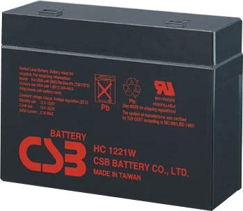 best patriot 250 ups pack is for one 1 hc1221w battery