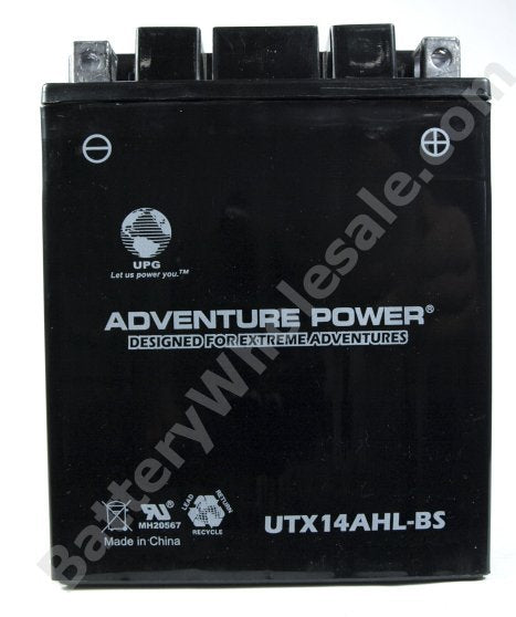 adventure power utx14ahl bs 12v 12ah dry charge agm