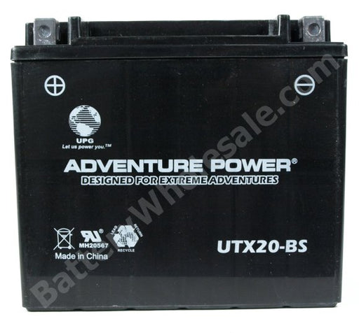 adventure power utx20 bs 12v 18ah dry charge agm