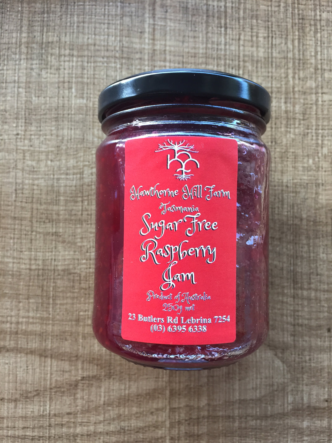 Hawthorne Hill Farm- Low Carb, Sugar Free Raspberry Jam