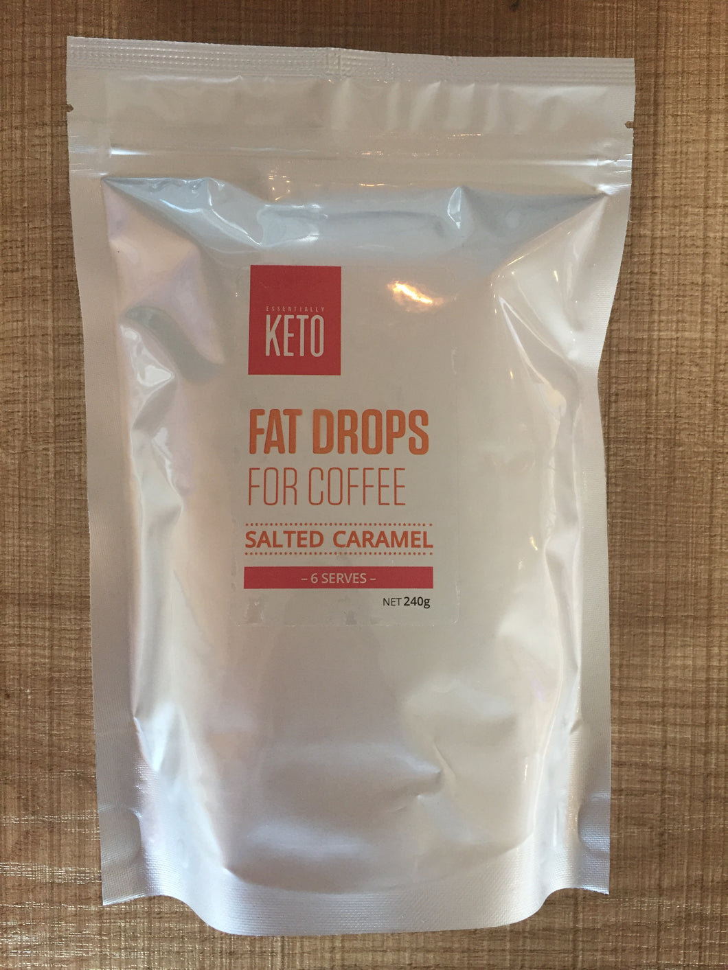 Essentially Keto Salted Caramel Fat Drops -6 Serves $21 (available in-store only)