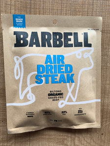 Barbell Biltong Air Dried Steak 70g - Bench Mark Classic Spices