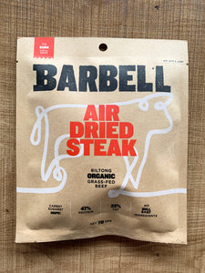 Barbell Biltong Air Dried Steak 70g - The Burn Chilli Spice