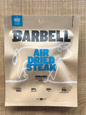 Barbell Biltong Air Dried Steak 30g - Bench Mark Classic Spices