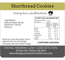 Load image into Gallery viewer, Viking Mama Cookies - Almond Short Bread