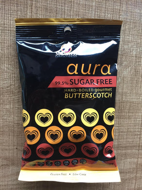Sugarless Confectionary - Aura Butterscotch Flavour (Hardboiled)