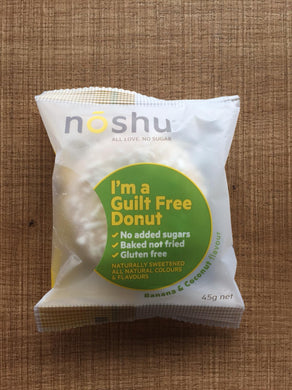 Noshu Donuts - Banana & Coconut $4.6 (available in-store only)
