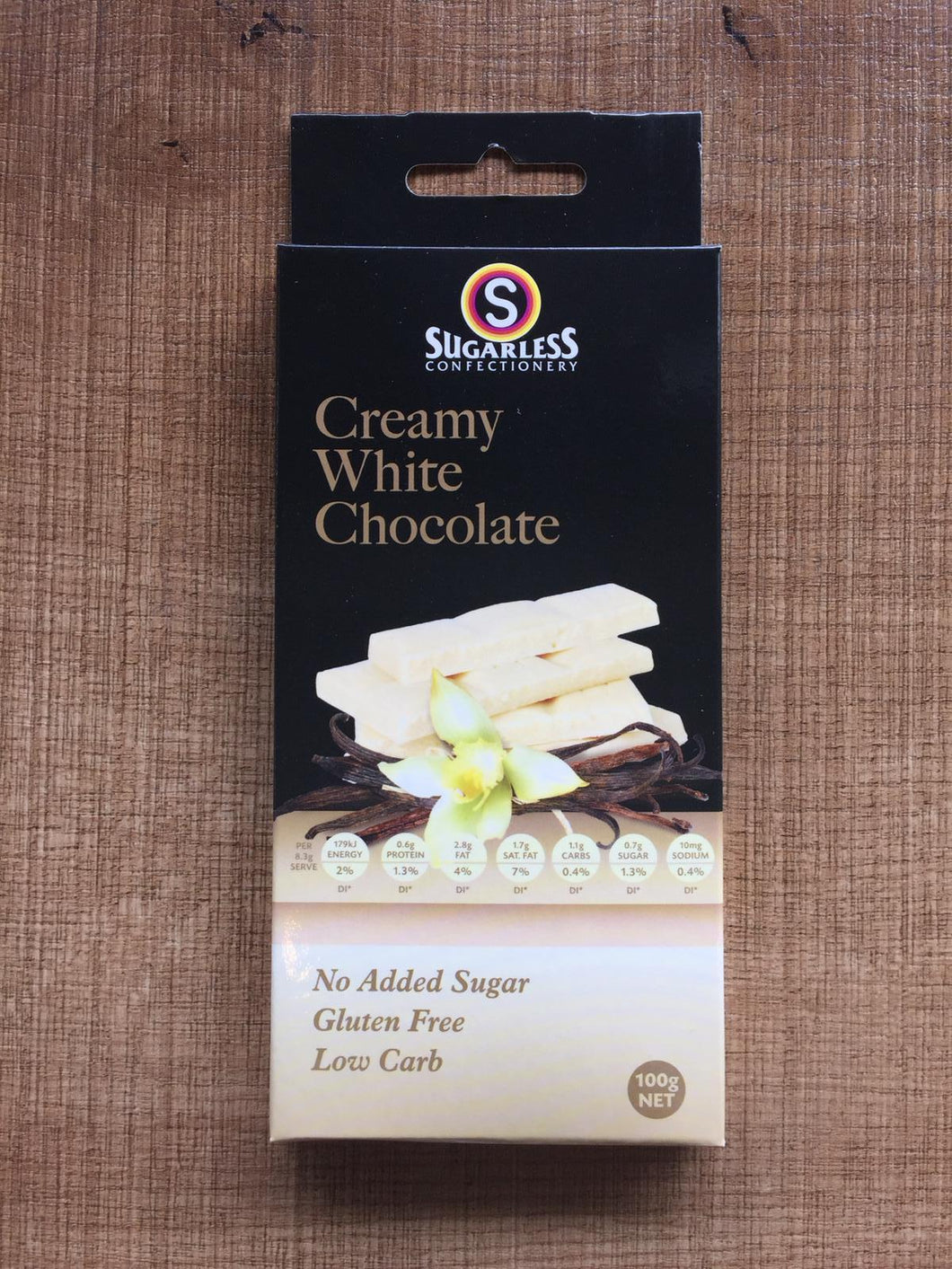 Sugarless Confectionary - Creamy White Chocolate (Gourmet)
