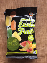 Load image into Gallery viewer, Sugarless Confectionary - Exotic Fruits w/ Stevia (Jellies)
