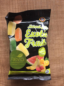 Sugarless Confectionary - Exotic Fruits w/ Stevia (Jellies)