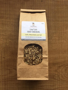 Viking Mama Seed Crackers - Garlic & Herb