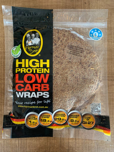 Herman Brot High Protein Low Carb Wraps