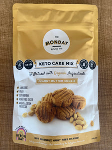 The Monday Food Co- Keto Cookie Mix- Peanut Butter 250g