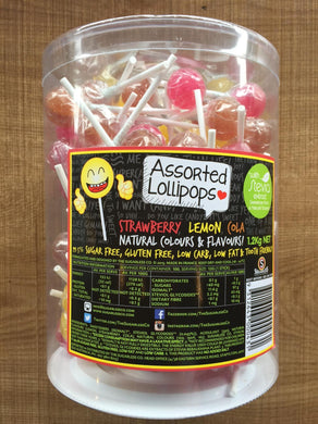 Sugarless Confectionary - Stevia Lollipops (Assorted)