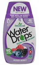 Load image into Gallery viewer, SweetLeaf Stevia Mixed Berry Water Drops 48ml