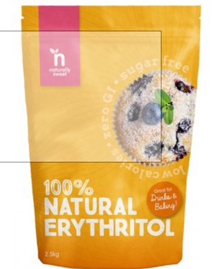 Naturally Sweet- 2.5kg 100% Natural Erythritol Sweetner