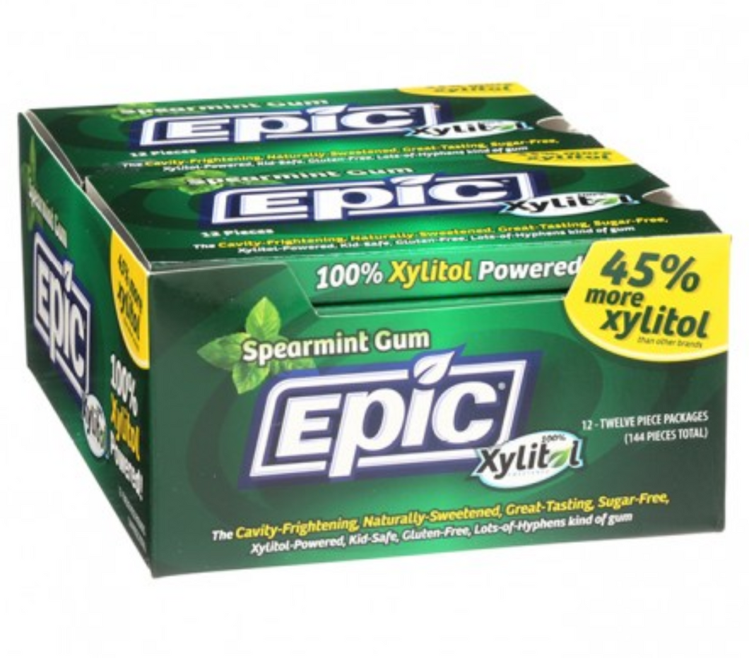 Epic Spearmint Dental Gum Blister