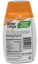 Load image into Gallery viewer, SweetLeaf Stevia Peach Mango Water Drops 48ml