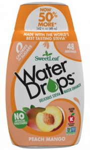 SweetLeaf Stevia Peach Mango Water Drops 48ml