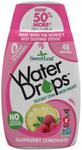 SweetLeaf Stevia Raspberry Lemonade Water Drops 48ml