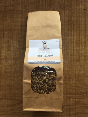 Viking Mama Seed Crackers - Salt