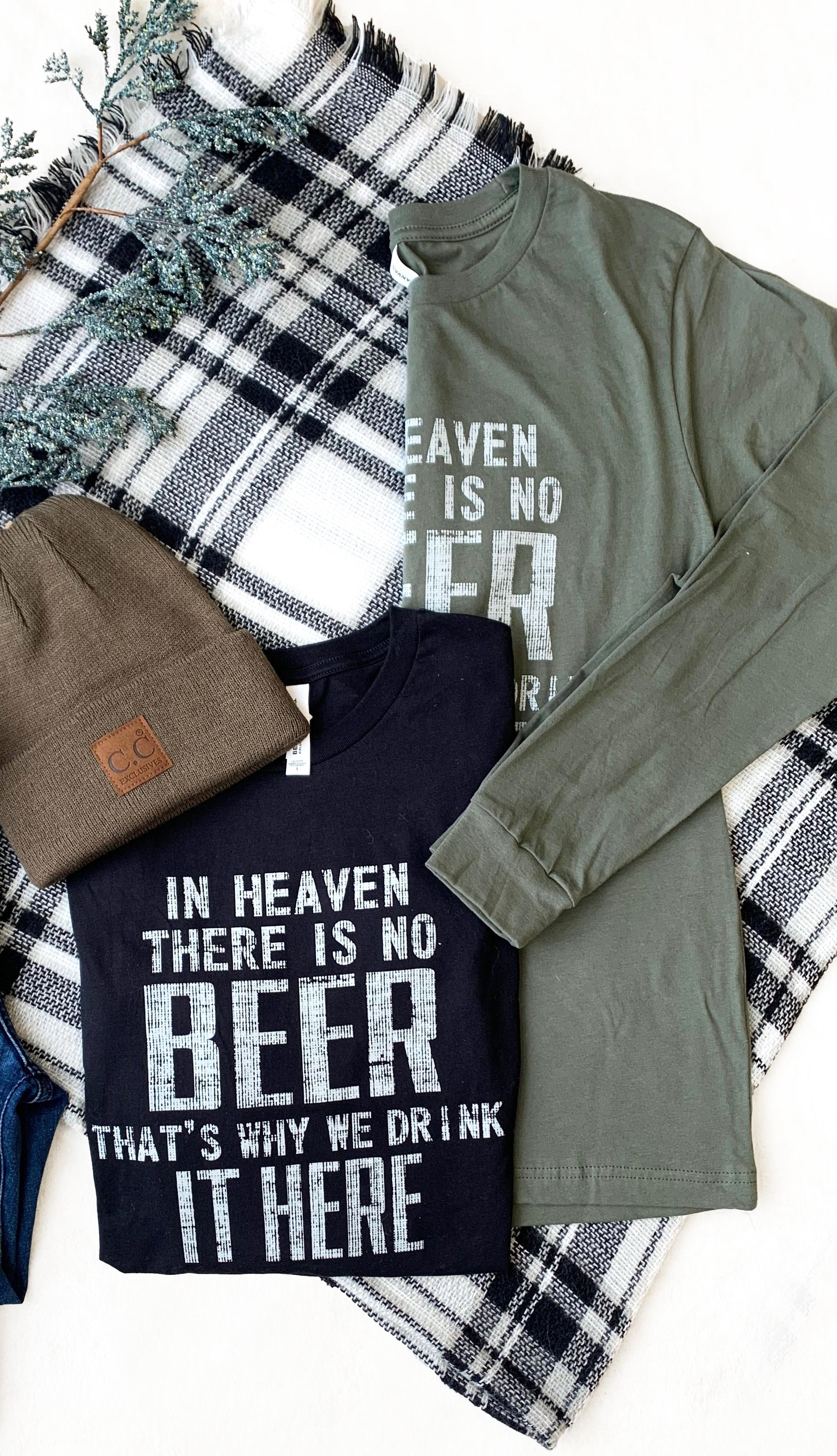 In Heaven Long Sleeve Tee